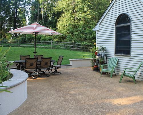 Concrete walkways and patio contractor | GSI Concrete
