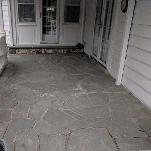 Decorative Concrete Before | GSI Concrete