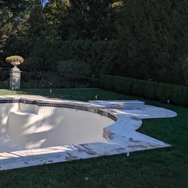 GSI Concrete Pool Decking Before | GSI Concrete