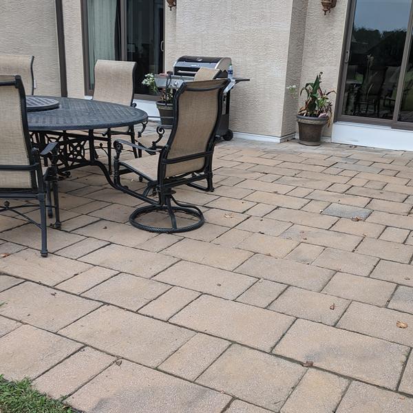 GSI Concrete stamped concrete patio before | GSI Concrete