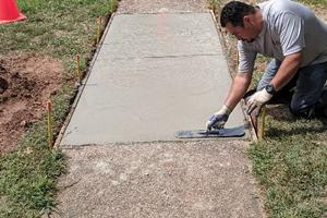 flat concrete work gsi concrete