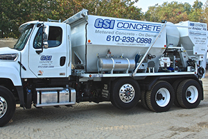 fresh metered concrete gsi concrete