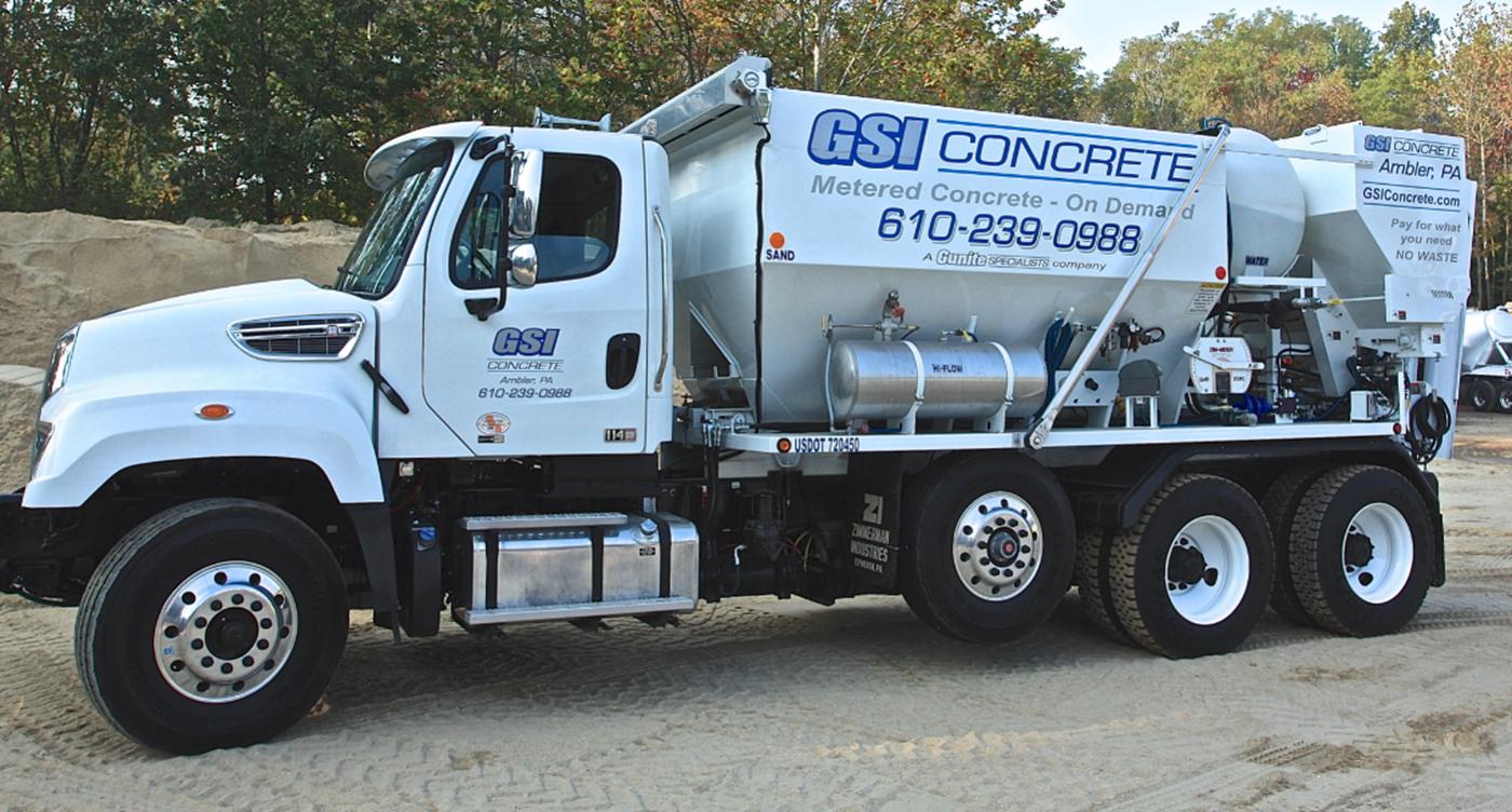 gsi concrete delivery services Philadelphia | GSI Concrete