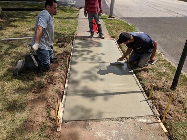 sidewalk concrete repair services | GSI Concrete